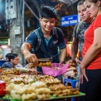 Crazy Vietnamese food tour