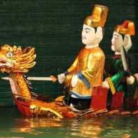 Water Puppet theater in Hanoi